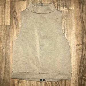 *New* Zara khaki Crop Top